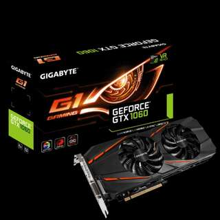 Gigabyte GTX 1060 6GB G1 Gaming RGB Graphics Card