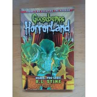 Goosebumps - Horror Land #bajet20