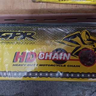 heavy duty motorcycle chain. 428H  -120L
