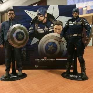 Hot toys Winter soldier Avenger Captain American