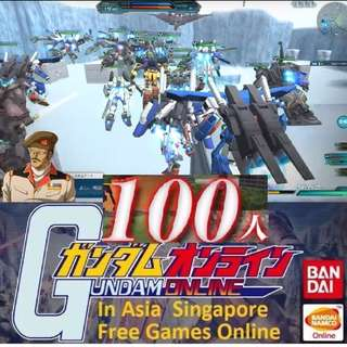 "(GTX 1080) Gundam Online Asia Edition 52 vs 52 PvP 免費 PC 遊戲 online. ""100% Gaming for Free Online"" (Massive 105 Player online) ""Start Gaming for Free Today"""