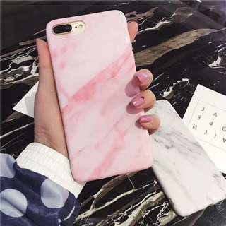 Pink Marble Case iphone 7/8plus