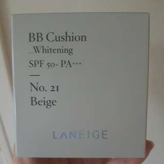 Brand new laneige BB Cushion