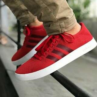 Adidas Neo Easy Vulc 2 Mesh Red