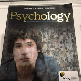 Psychology- 4th Australian and New Zealand Edition