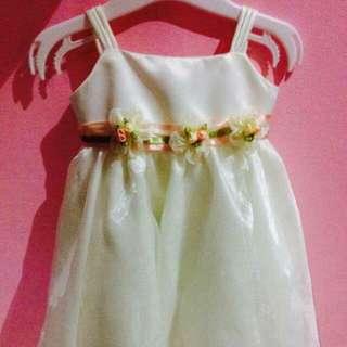 betina cream gown