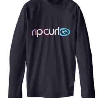 🆕 Rip Curl Juniors Miss Sunshine Long Sleeve Rash Guard