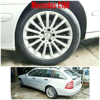 Tyre 235/45 R17 Membat on Mercedes C180 🐓 Super Offer 🙋