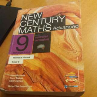 New Century Maths Advanced 9  for 5.2& 5.3