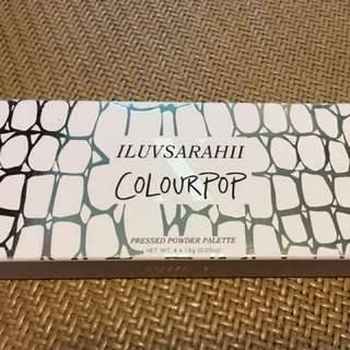 ILUVSARAHII Colourpop Pressed Powder Palette