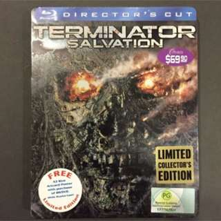 TERMINATOR SALVATION Blu-ray Steelbook Singapore Limited Collector's Edition OOP