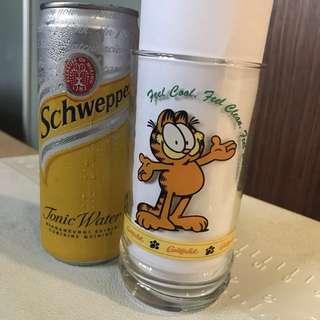 Garfield x Darlie glass