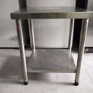 Stainless Steel low desk