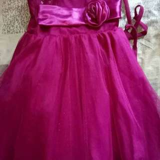 Gown/Dress 1 to 3 yrs old