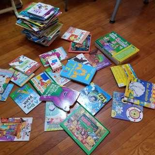 1-5 歲中英文圖書 ( 九成以上新)