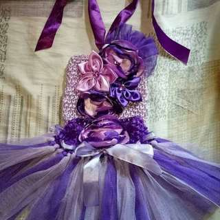 Tutu dress 1 to 2 yrs old