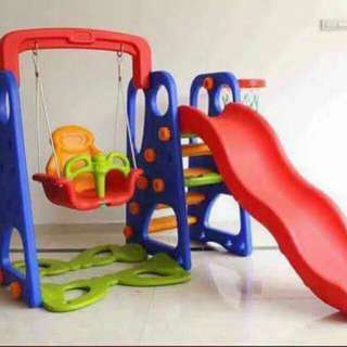 Swing and Slide 3 in 1. kiddie playground