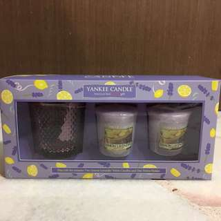 Yankee Candles - Lemon Lavender Gift Set