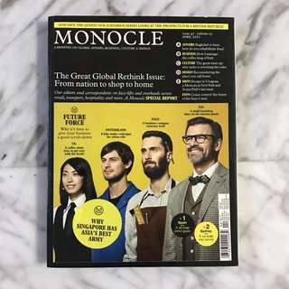 Monocle issue 42, Vol 5, April 2011 magazine