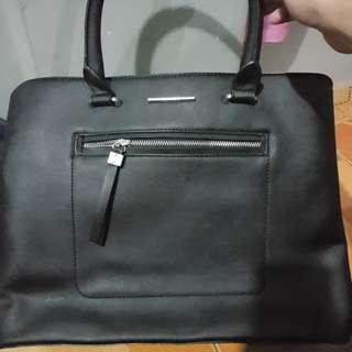 Soffiano-effect Tote Bag