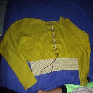Sweater/baju hijau