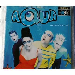 AQUA Aquarium CD