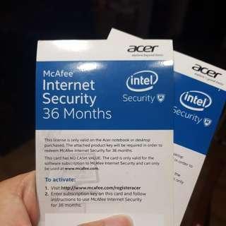 McAfee Internet Security ($15)