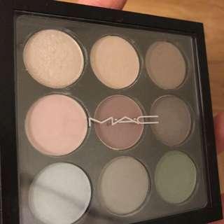 mac shadows palettes