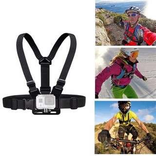 Chest Harness Strap Mount For Gopro Hero 5/4/3/3+ Xiao Mi Yi SJ4000
