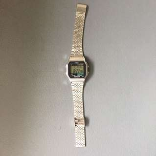 Timex Stainless Steel Watch (Silver)
