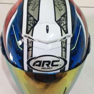 Arc helmet