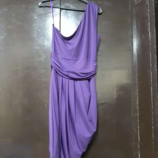 One-shoulder formal dress