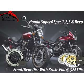 Honda Super 4 Spec 1,2,3 and Revo