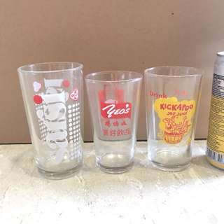 Branded glass collectibles