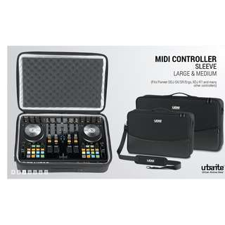 UDG MIDI CONTROLLER SLEEVE BAG PIONEER / NI TRAKTOR / NURMARK / DENON / REPLOOP /OTHERS - 3 sizes fr $160
