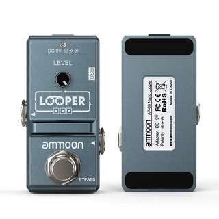 ammoon AP-09 Nano Loop Electric Guitar Effect Pedal Looper True Bypass