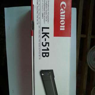 Canon LK-51B BATTERY+CHARGER   適用影印機型號: canon BJC-50, BJC-55, i70, i80 ,  pixma iP90, iP90V