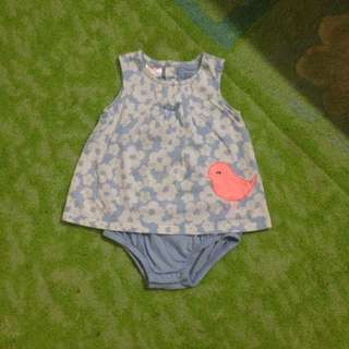 Carters rompers dress size 3-6m