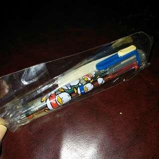 pekkle鴨仔日本絕版1996年多色筆連鉛心筆