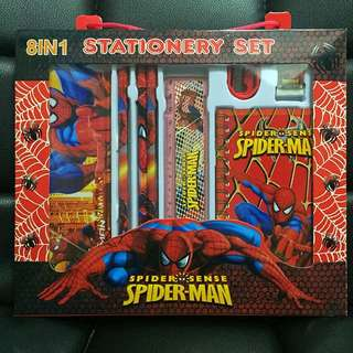 Goodie bag stationery set- spiderman