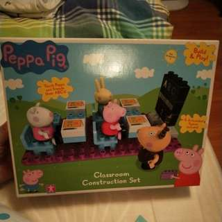 Peppa Pig Classroom Construction Set
