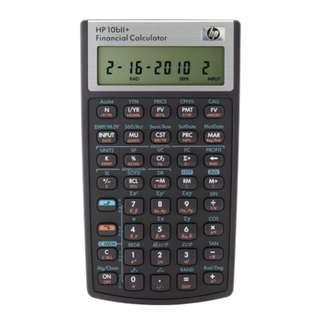 Hewlett-Packard (HP) 10bii+ Financial Calculator