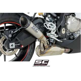 SC-Project S1 Muffler Titanium with Carbon Cap