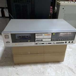 Technics Auto Reverse Stereo Cassette Deck RS-B48R