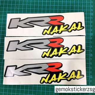 KRR NAKAL DECAL