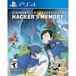 Ps4 Digimon Story Cybersleuth Hacker Memory R3