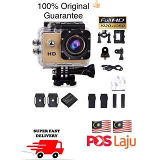 🔥RM100 ONLY‼️ Sport Action Camera 1080p