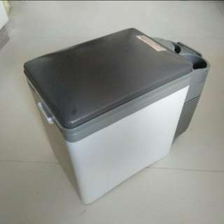 Portable car mini fridge travel refrigerator - cooler freezer warmer