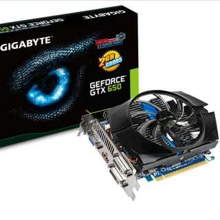 GTX 650 OC 2GB