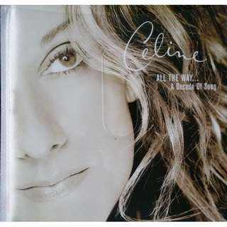 CELINE DION All The Way A Decade Of Songs